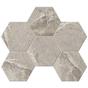 Мозаика КA02 Hexagon 25x28,5 Неполированная