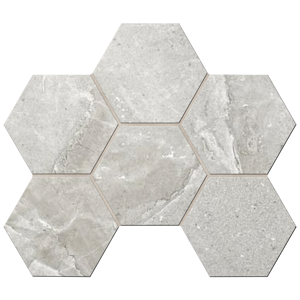 Мозаика КA01 Hexagon 25x28,5 Неполированная