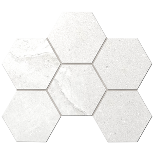Мозаика КA00 Hexagon 25x28,5 Неполированная