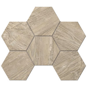 Мозаика TA02 Hexagon 25x28,5 Неполированная